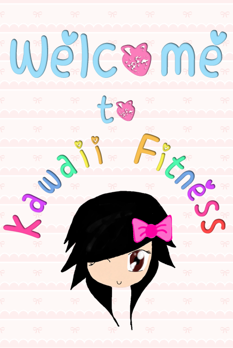 Kawaii Fitness welcome page