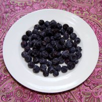 103 calories in 1 1.4 cup blueberries
