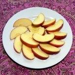 99 Calories 1 3/4 cup apples 4.6 grams of fiber