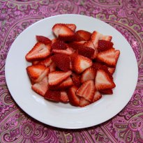 106 calories in 2 cups of strawberries