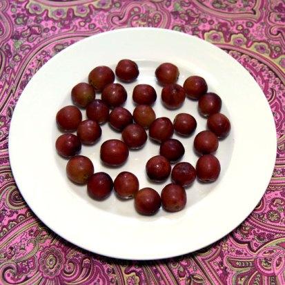 101 calories in 30 pcs of grapes