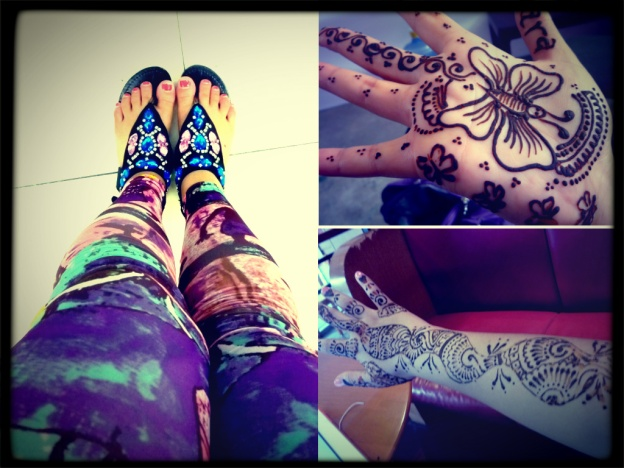 Mehndi and fashion