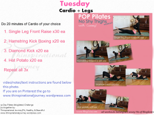 Tuesday Cardio and Legs