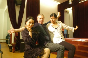 Lara Novales with Ian Wright Discovery Travel and Living, Beijing Playhouse Snow White, Amy Wang