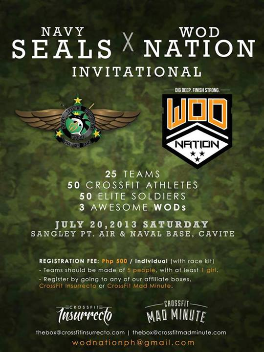 This Saturday| Navy Seals X WOD Nation